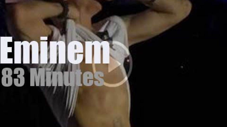 Eminem raps in Austin (2014)