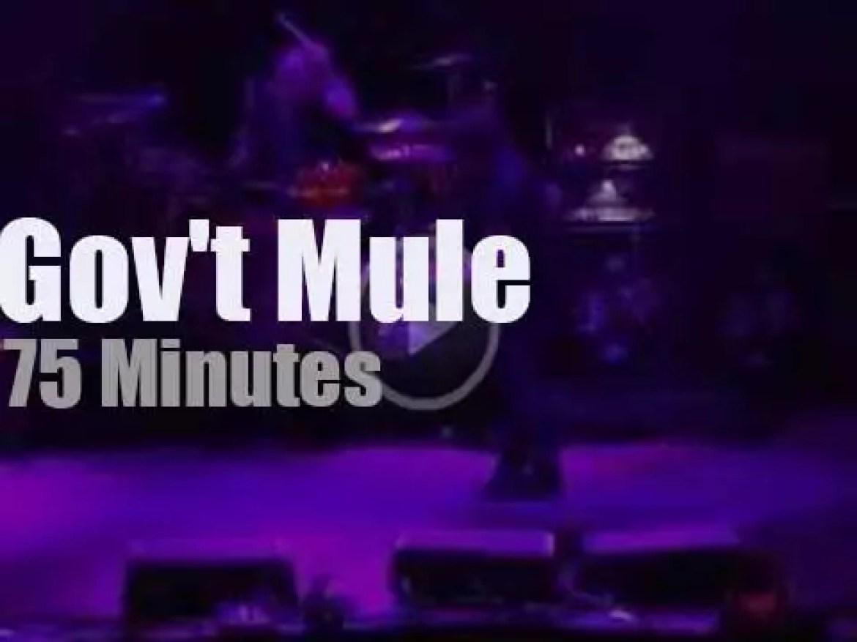 Gov't Mule play Red Rocks (2018)