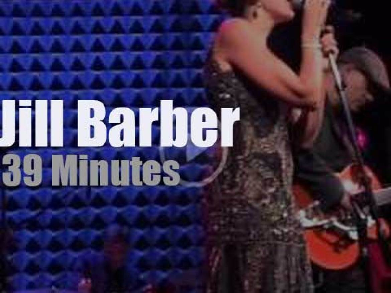 Jill Barber sings in New-York (2014)
