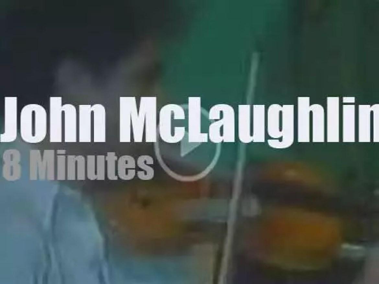 John McLaughlin plays in São Paulo (1978)