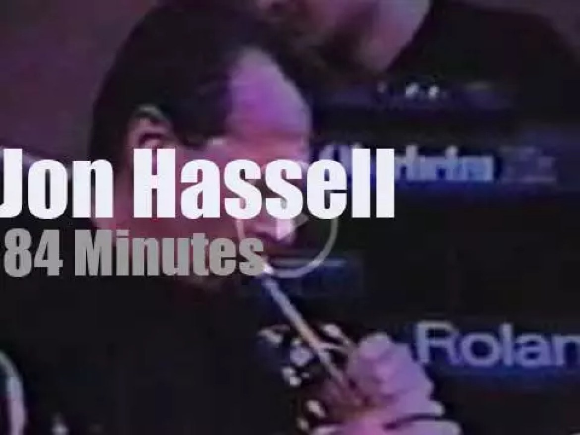 Jon Hassell plays at the World Trade Towers  (1989)
