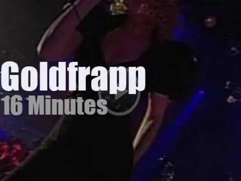 MTV tapes Goldfrapp in Berlin (2005)