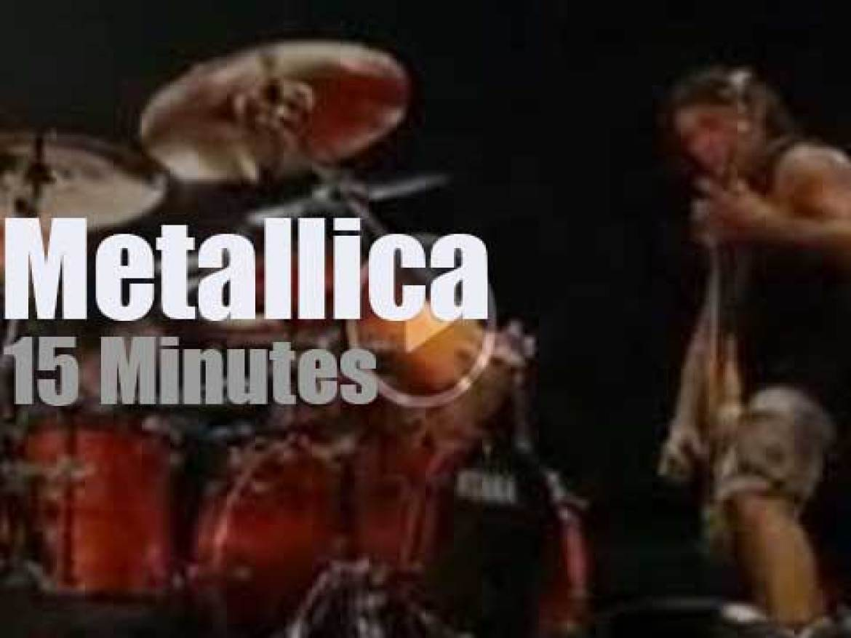 Metallica serenade Dallas (2009)