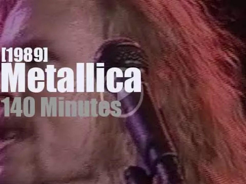 Metallica serenade Mountain View (1989)