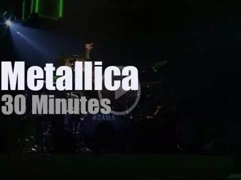Metallica serenade Saskatoon, Canada (2018)