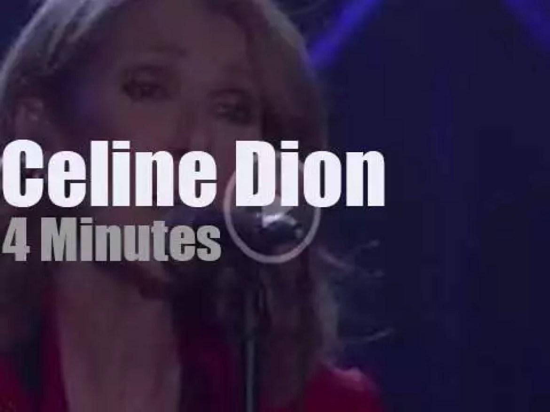 On TV today, Celine Dion with Ellen DeGeneres (2016)