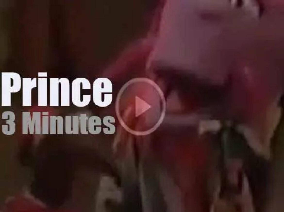 On TV today, Prince sits in with the Muppets (1997)