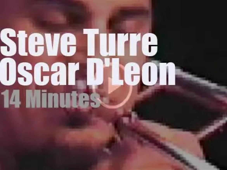 Oscar D'Leon meets Steve Turre at the Village Gate (1985)