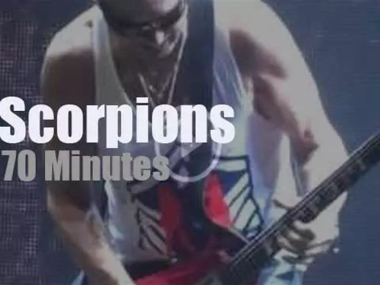 Scorpions return to Chicago (2015)