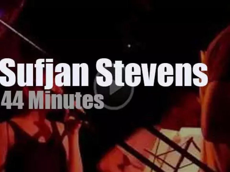 Sufjan Stevens performs in Ithaca (2009)