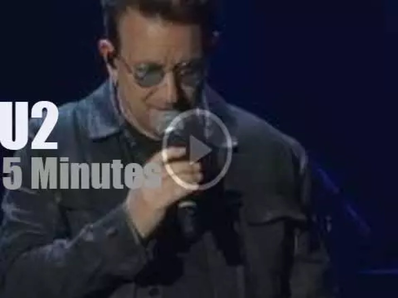 U2 attend 'iHeartRadio Music Festival' (2016)