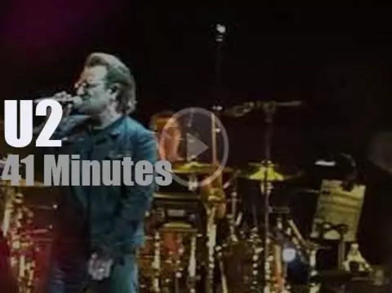 U2 visit Copenhagen (2018)
