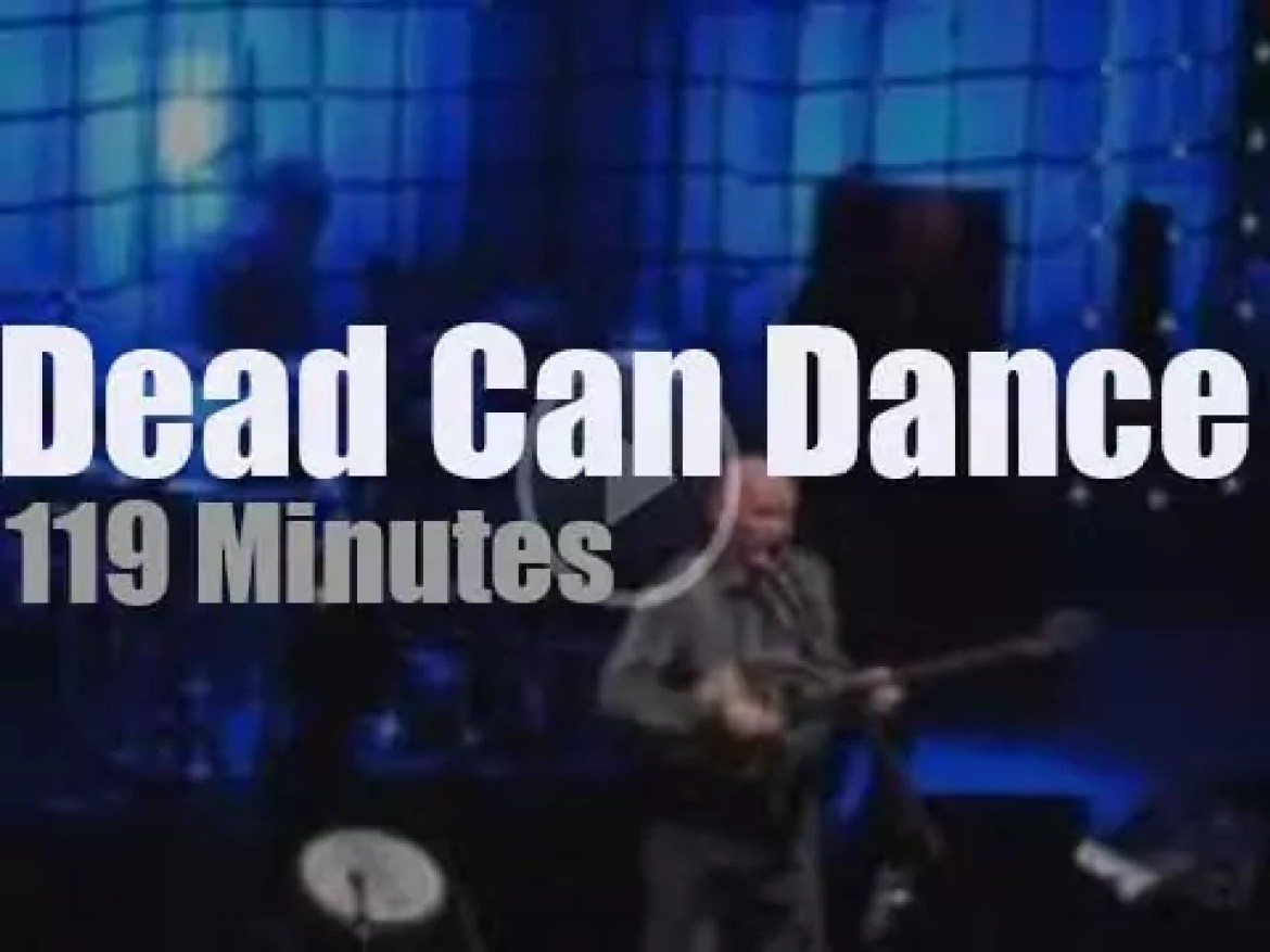 Dead Can Dance are very much alive in London (2012)