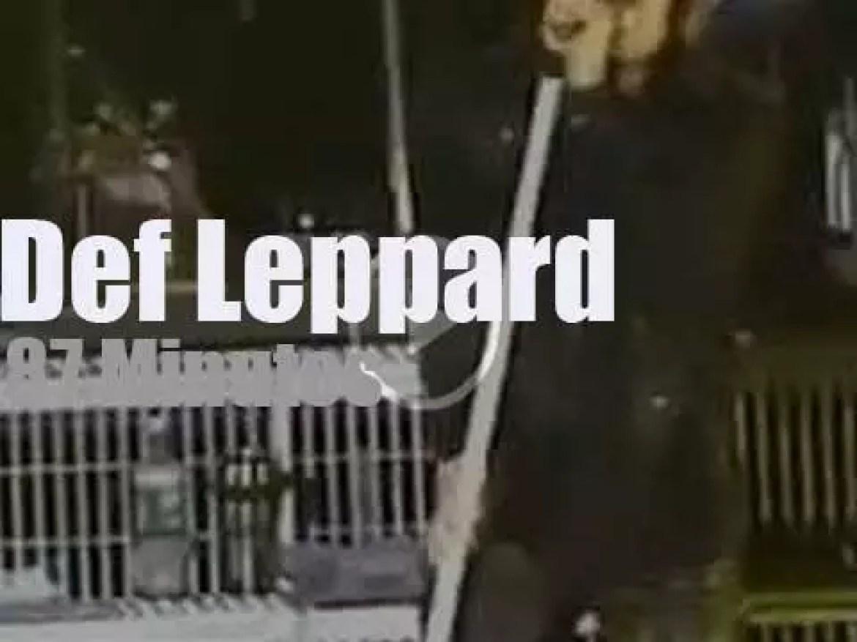 Def Leppard rock New-Jersey (2005)