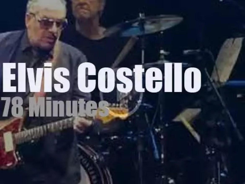 Elvis Costello comes to Atlantic City (2018)