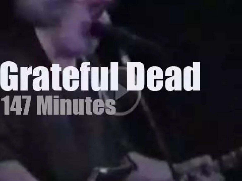 Grateful Dead travel to Sweden (1990)