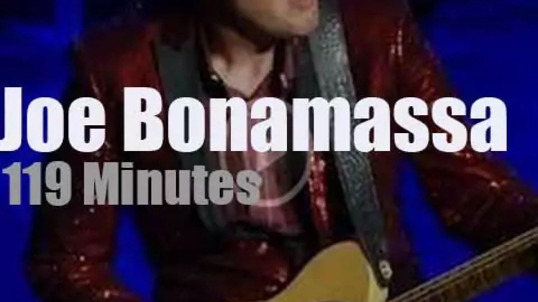 Joe Bonamassa visits Buffalo (2018)