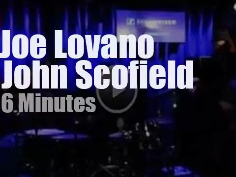 John Scofield meets Joe Lovano in Hannover (2015)