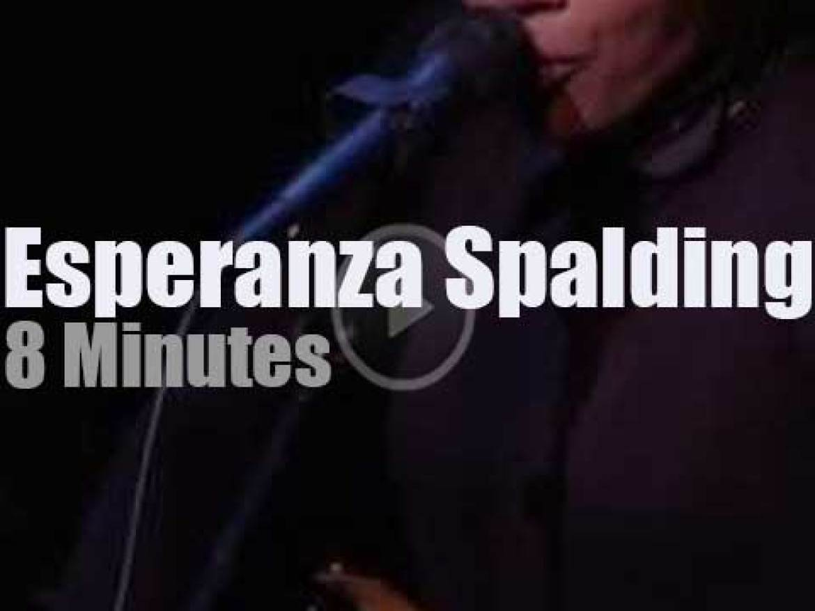 On Radio Today, Esperanza Spalding At 'Live From Here' (2016)