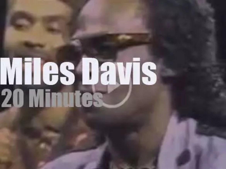 On TV Today, Miles Davis at 'Night Music' (1989)