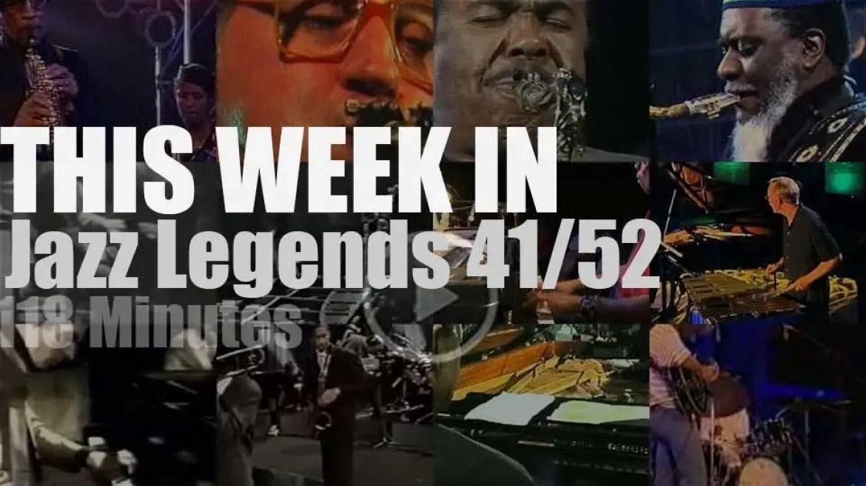 This week In Jazz Legends 41/52