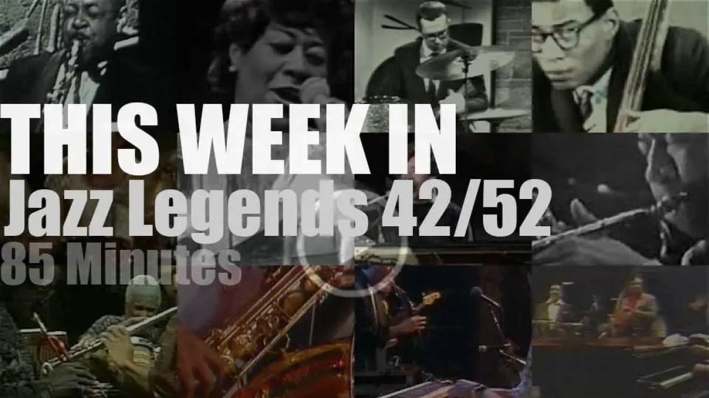 This week In Jazz Legends 42/52
