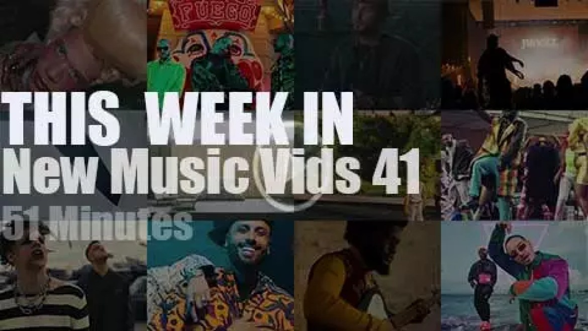 This week In New Music Videos 41