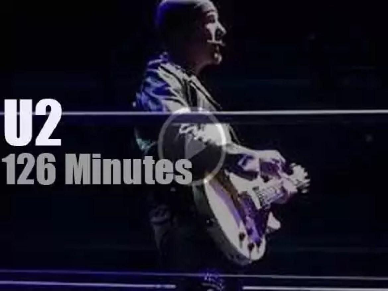 U2 visit Belfast (2018)