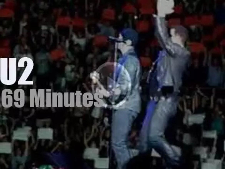 U2 visit Rome (2010)