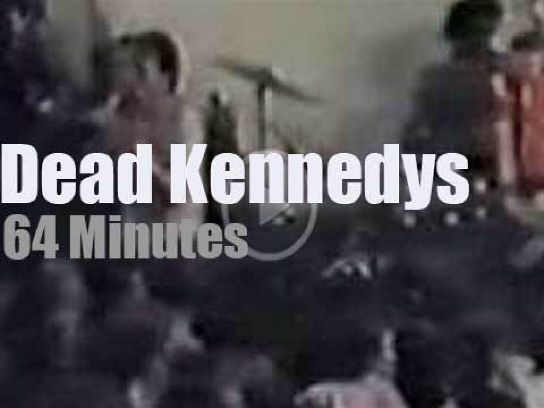 Dead Kennedys pogo in DC (1985)