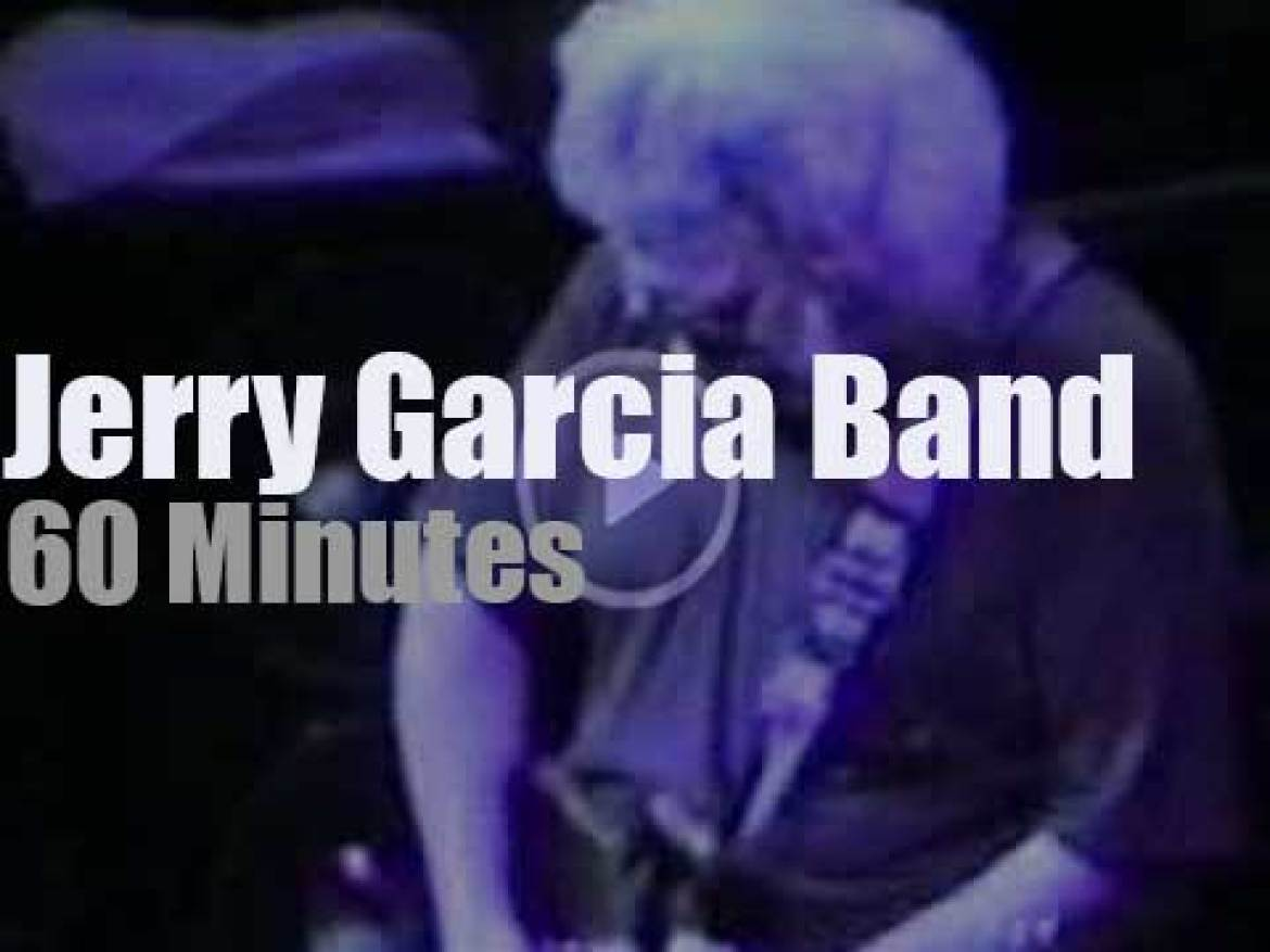 Jerry Garcia Band comes to Massachussets (1991)