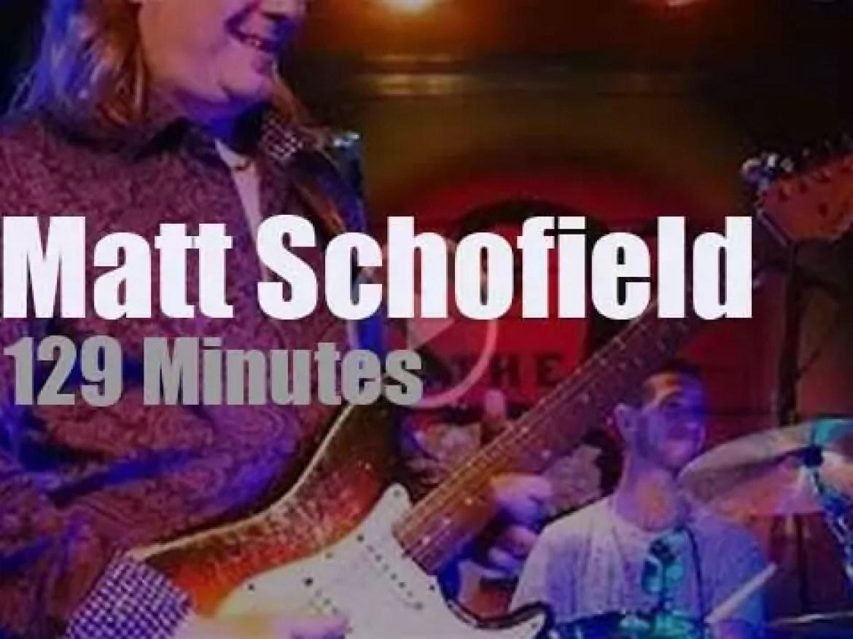 Matt Schofield bluesifies Florida (2017)