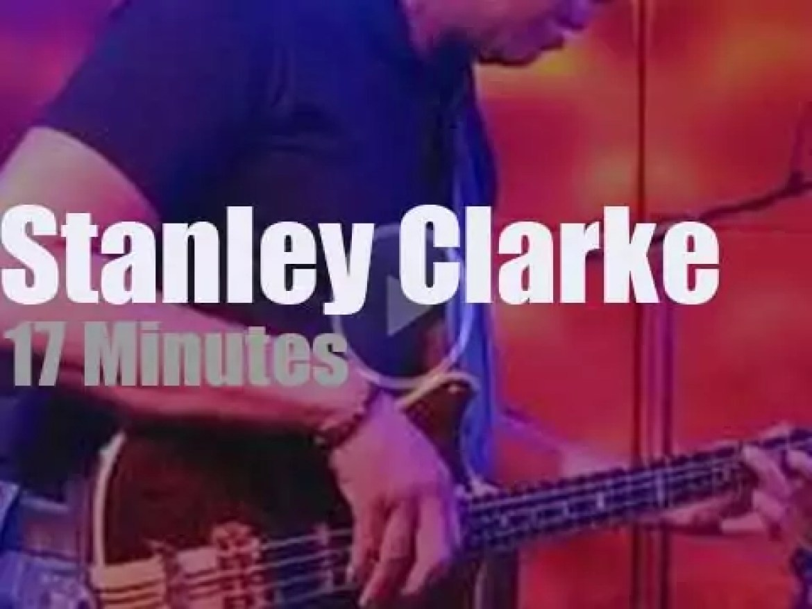 The Stanley Clarke Band plays in Holland (2014)