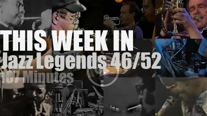 This week In Jazz Legends 46/52