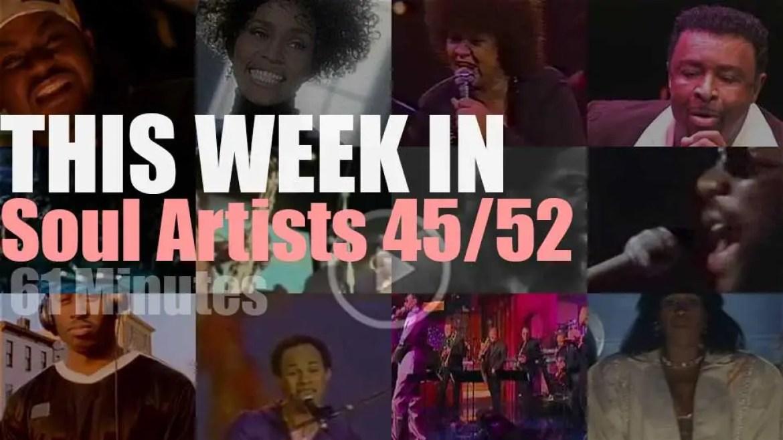 This week In Soul Artists 45/52