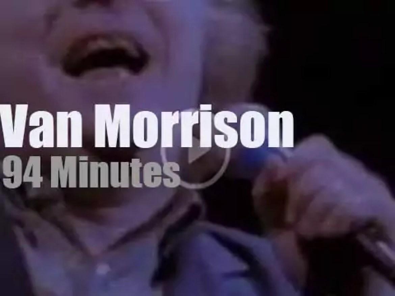 Van Morrison sings in New-York (1989)
