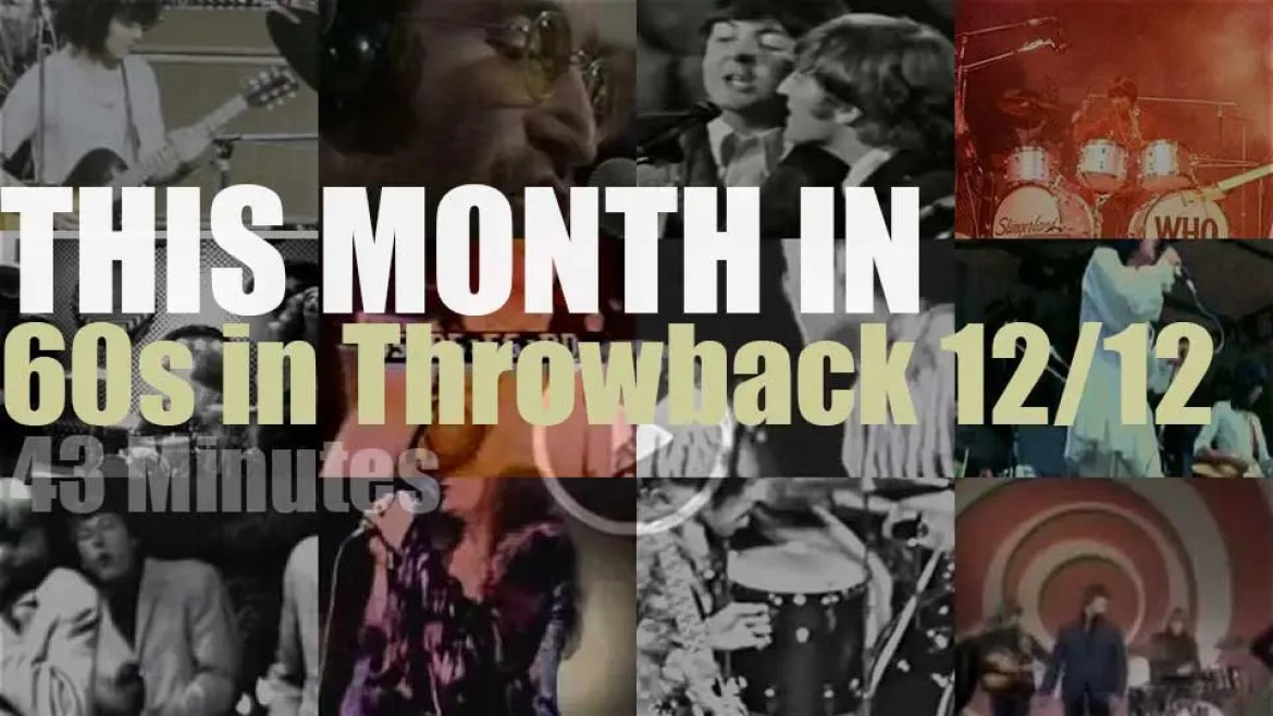 This month In  '60s Throwback' 12/12