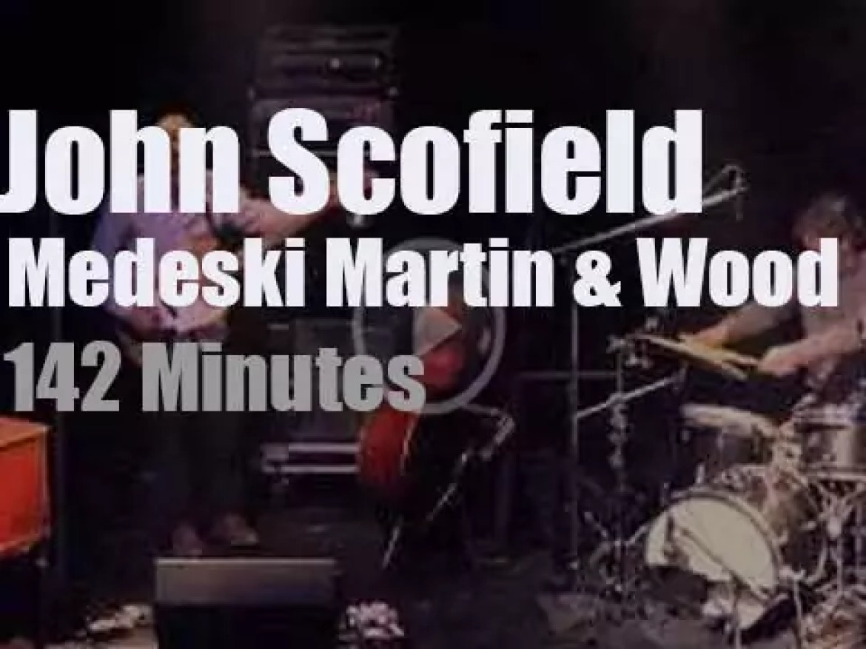 John Scofield joins Medeski  Martin & Wood in Chicago (2014)