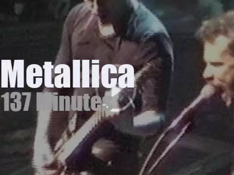Metallica serenade Inglewood (1996)