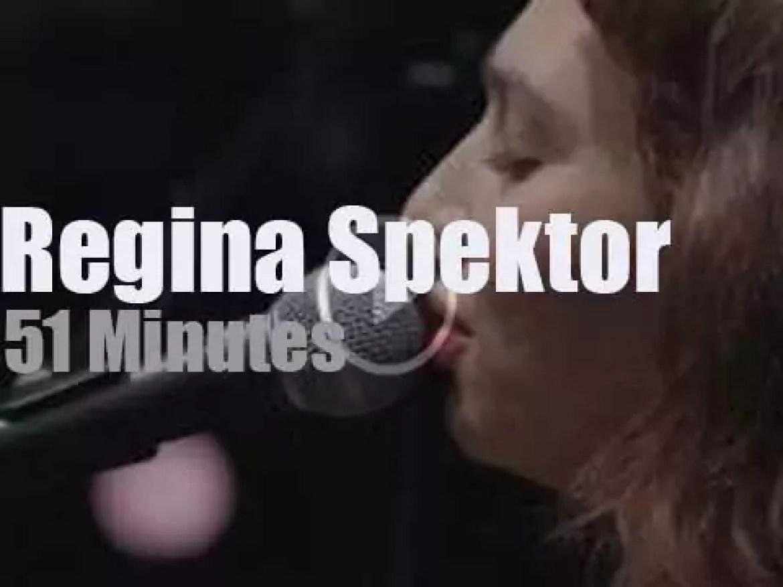 On radio today, Regina Spektor at KEXP (2016)