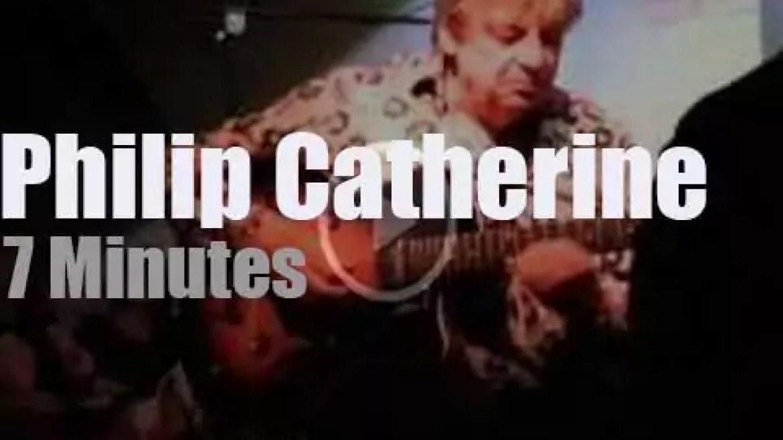Philip Catherine plays in Paris