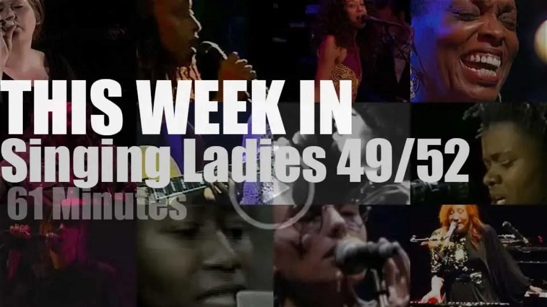 This week In Singing Ladies 49/52