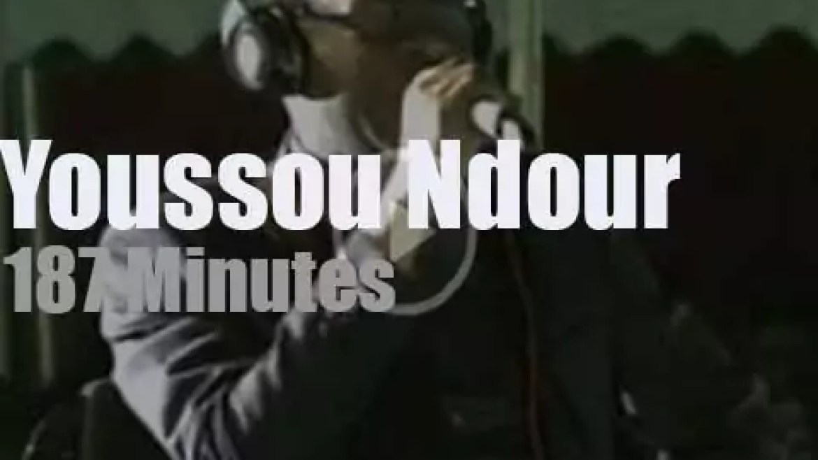 Youssou Ndour  performs at home (2016)