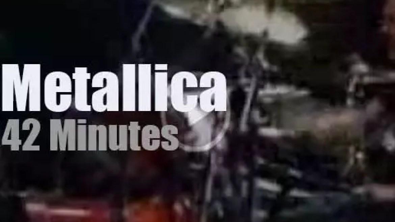 Metallica serenade Buenos Aires (2010)
