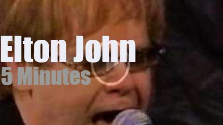 On TV today, Elton John with Jay Leno (2003)