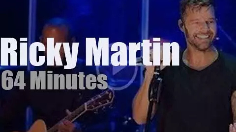 Ricky Martin presents 'A Quien Quiera Escucha' to New-York fans (2015)