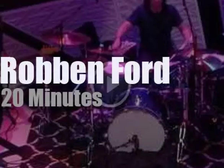 Robben Ford plays in Brooklyn (2017)