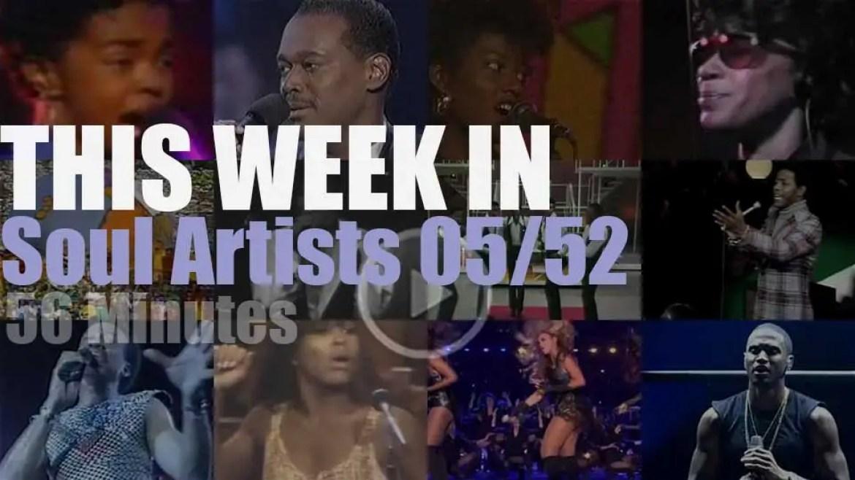 This week In Soul Artists 05/52