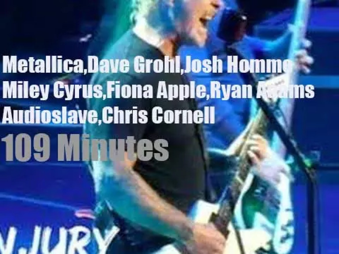 They all pay tribute to Chris Cornell in LA (2019)