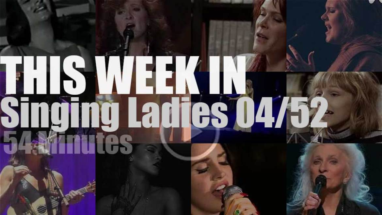 This week In Singing Ladies 04/52